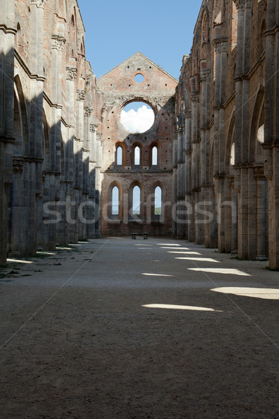 Abbey of San Galgano, Tuscany, Italy Stock photo © wjarek