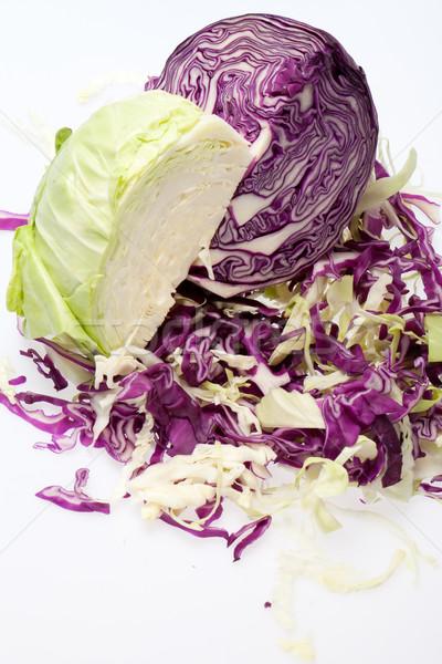 White and Red  Cabbage Stock photo © wjarek