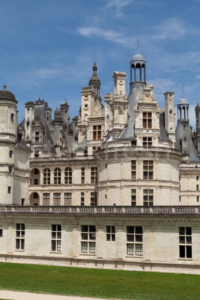 The royal Castle of Chambord in Cher Valley, France Stock photo © wjarek