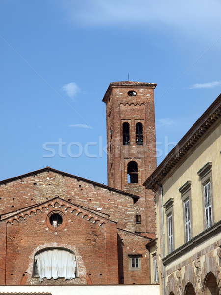 Lucca - Ancient and medieval city. Stock photo © wjarek