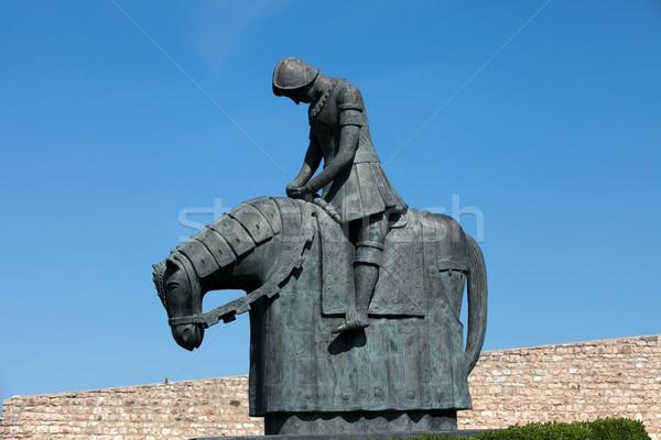 Knight of St. Francis - Assisi Stock photo © wjarek