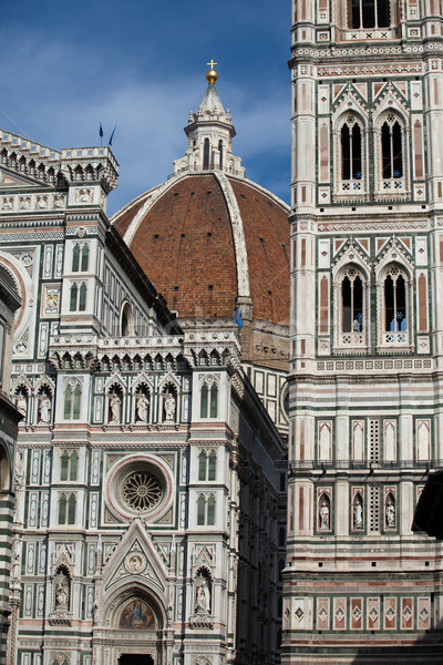 Stock photo: Florence - Duomo and Campanile