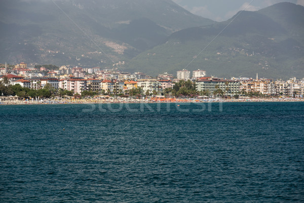 Alanya - the beach of Aladdin .  Alanya is one of most popular seaside resorts in Turkey Stock photo © wjarek