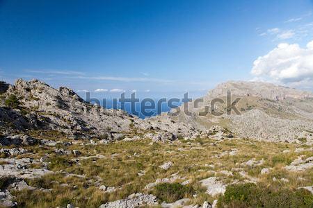 Serra de Tramuntana - mountains on Mallorca, Spain  Stock photo © wjarek