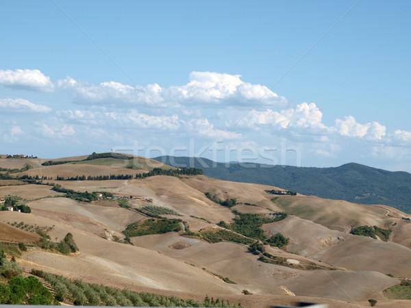 Tuscany, landscape in San Gimignano surroundingss  Stock photo © wjarek