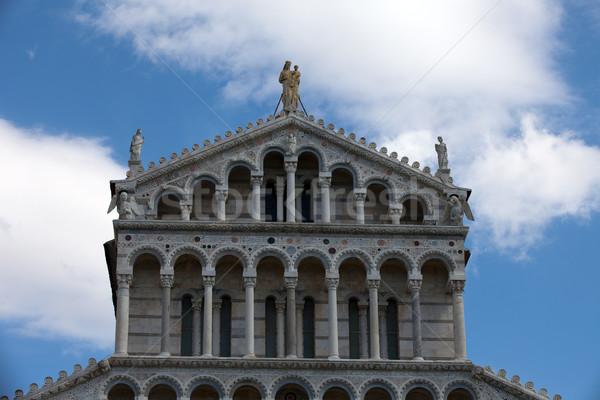 Kathedraal onderstelling Stockfoto © wjarek