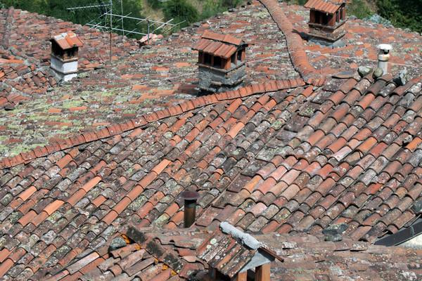 Barga a medieval hilltop town in Tuscany. Stock photo © wjarek