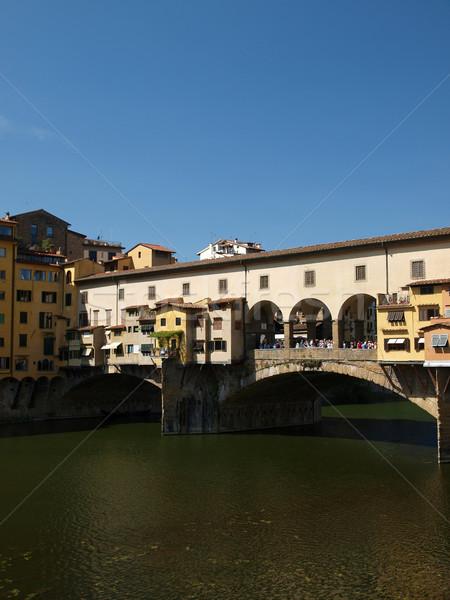 Florence - the Ponte Vecchio  Stock photo © wjarek
