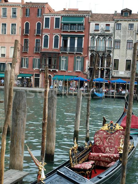 Венеция изысканный антикварная зданий канал путешествия Сток-фото © wjarek
