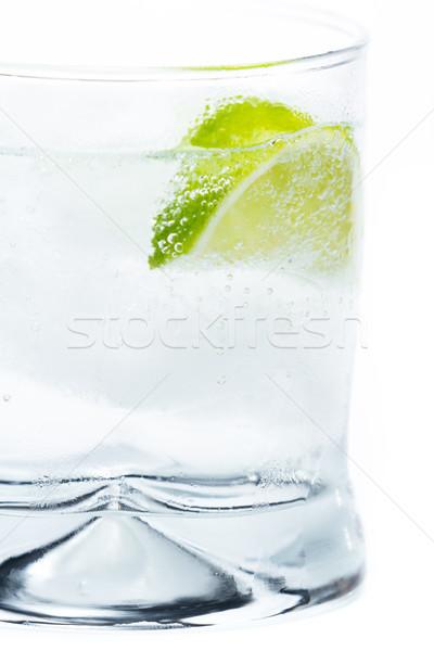 Vodka üdítő citrus közelkép rövid zsonglőr Stock fotó © wollertz