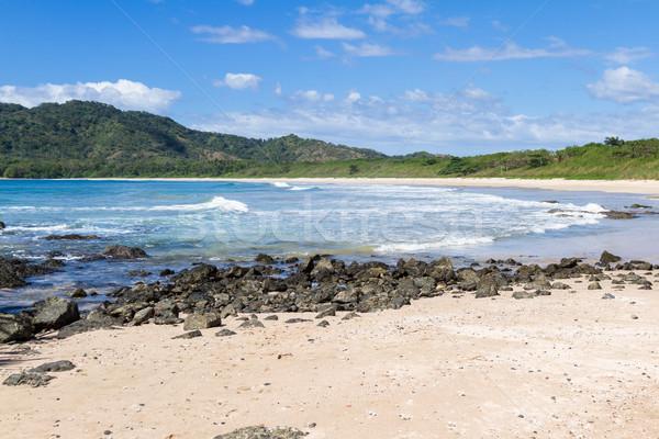 Costa Rica playa escena largo vacío Foto stock © wollertz