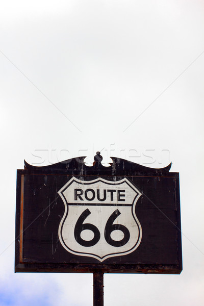Route 66 Road Sign Stock photo © wolterk