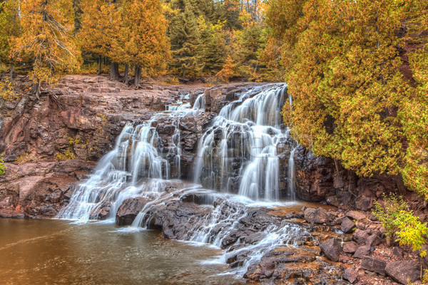 Gooseberry Falls  Stock photo © wolterk