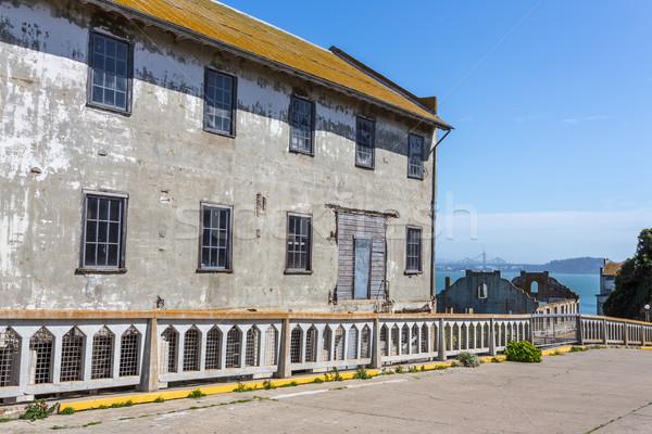 刑務所 建物 島 米国 ストックフォト © wolterk