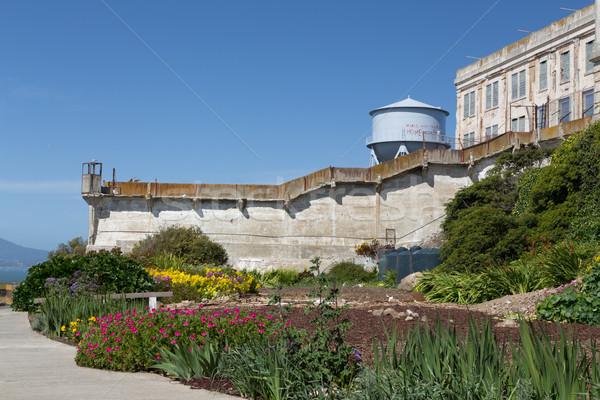 刑務所 庭園 島 米国 ストックフォト © wolterk