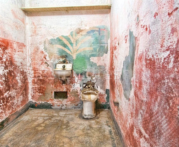 Prison Cell at Alcatraz Island  Stock photo © wolterk