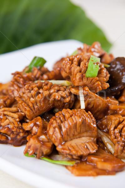 свинина почка растительное продовольствие Китай Кука Сток-фото © wxin