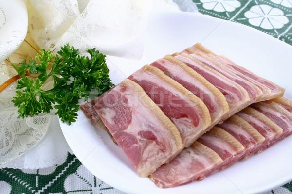 Chinese food- garlic white meat Stock photo © wxin
