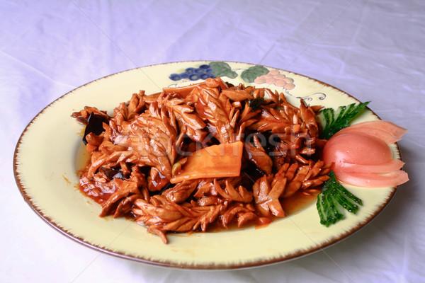 China heerlijk varkensvlees nier voedsel bamboe Stockfoto © wxin