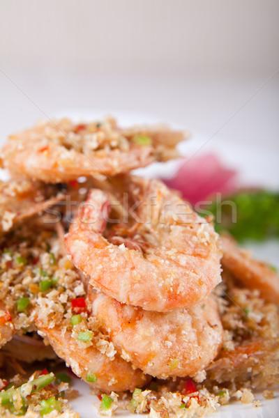 Stock fotó: Sült · Seattle · Kína · finom · szakács · Ázsia