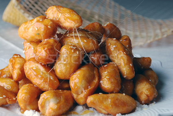 Cristalizado chinês comida cozinhar doce refeição Foto stock © wxin