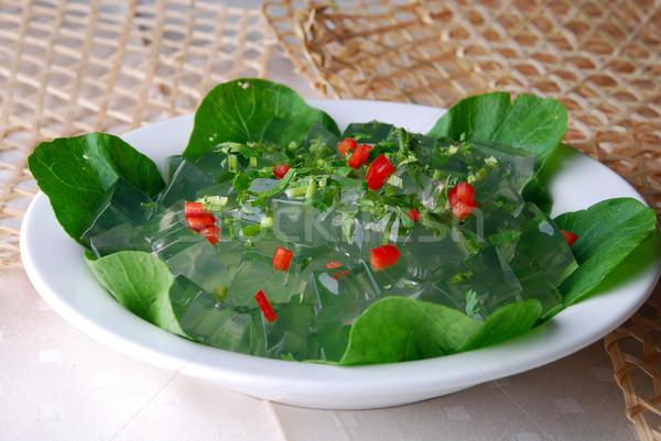 Gelatina alimentare cuoco Asia dolce pasto Foto d'archivio © wxin