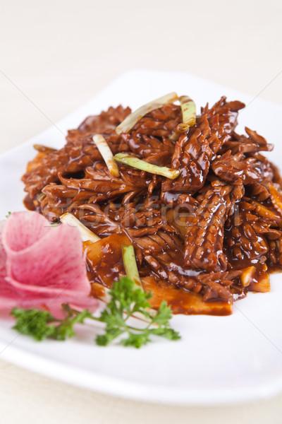 Cerdo riñón vegetales alimentos China cocinar Foto stock © wxin