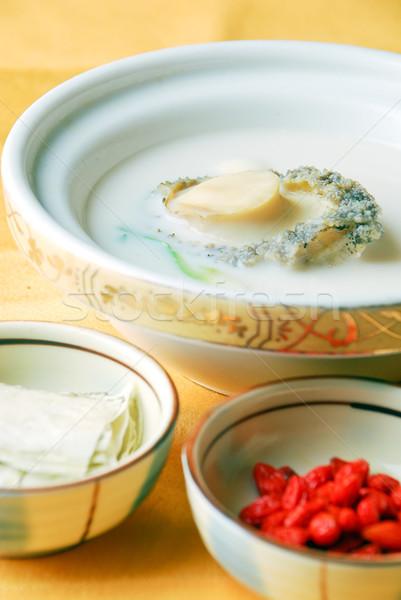 Stock fotó: étel · Kína · finom · szakács · leves · étel