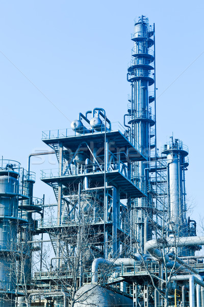 part of refinery complex Stock photo © wxin