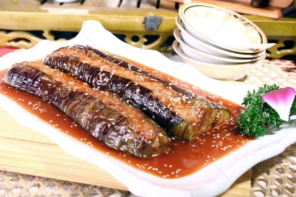 Stock fotó: Kína · finom · étel · étterem · szakács · étel