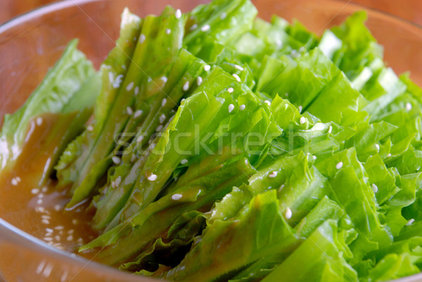 food in china-- vegetable receive favors sweet sauce Stock photo © wxin