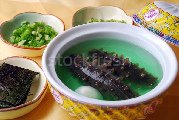 China heerlijk naaktslak ei voedsel restaurant Stockfoto © wxin