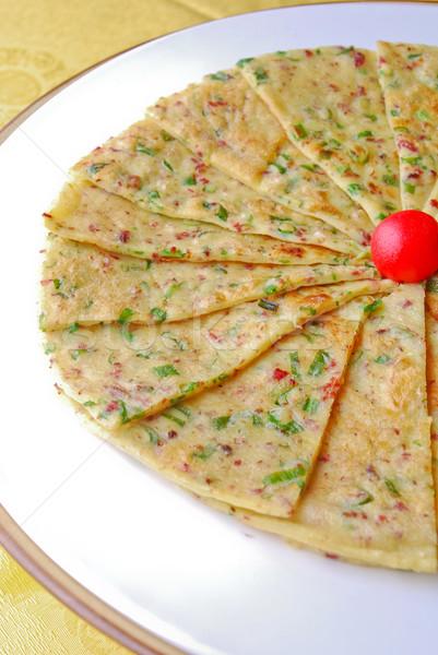 Veel restaurant Rood asia maaltijd Stockfoto © wxin