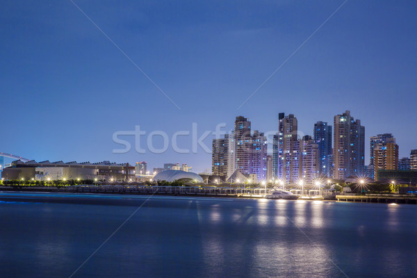 The night view of Shanghai Stock photo © wxin