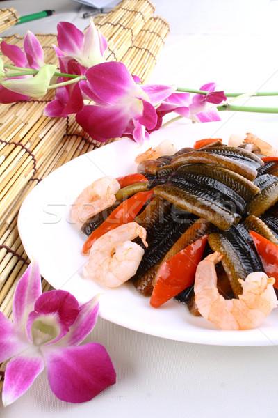 Kína finom étel angolna Seattle hal Stock fotó © wxin