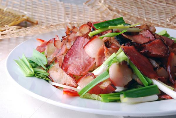 Foto stock: Fatia · carne · comida · restaurante · cozinhar · refeição