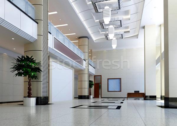 Stock fotó: 3D · modern · terv · belső · 3d · render · üzlet