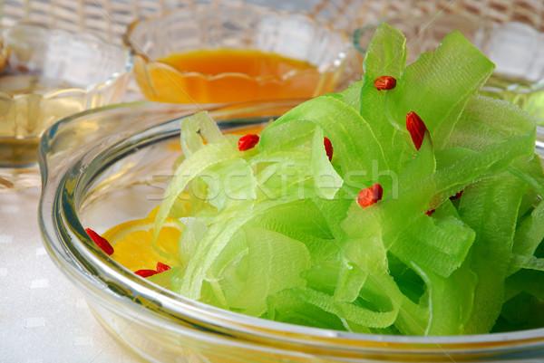 Stock fotó: Körte · saláta · étel · étterem · zöldségek · szakács