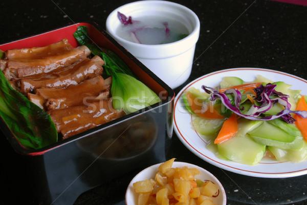 中国 リブ コメ 食品 レストラン ストックフォト © wxin