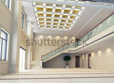 3D moderne ontwerp interieur 3d render business Stockfoto © wxin