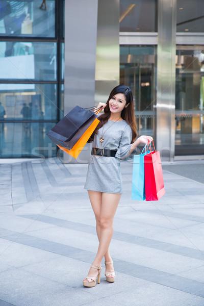 торговых за пределами Mall Сток-фото © wxin