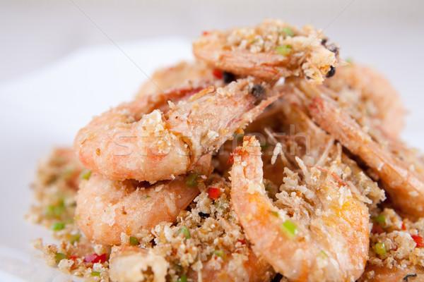 Garnalen China heerlijk kok asia Stockfoto © wxin