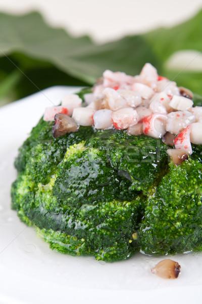 Stock fotó: Finom · brokkoli · Seattle · Kína · étel · szakács