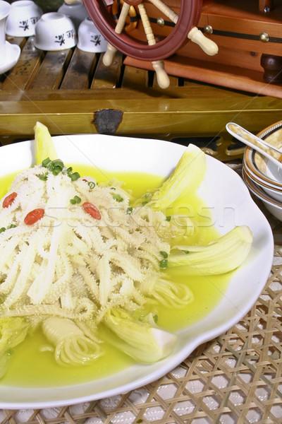 Varkensvlees soep varken stoven heerlijk restaurant Stockfoto © wxin