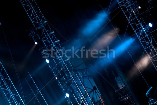 Fase lichten afbeelding verlichting effecten Stockfoto © wxin