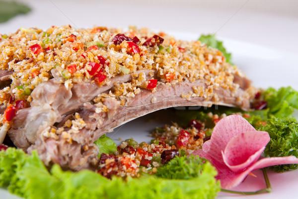 China delicioso cerdo alimentos restaurante Foto stock © wxin