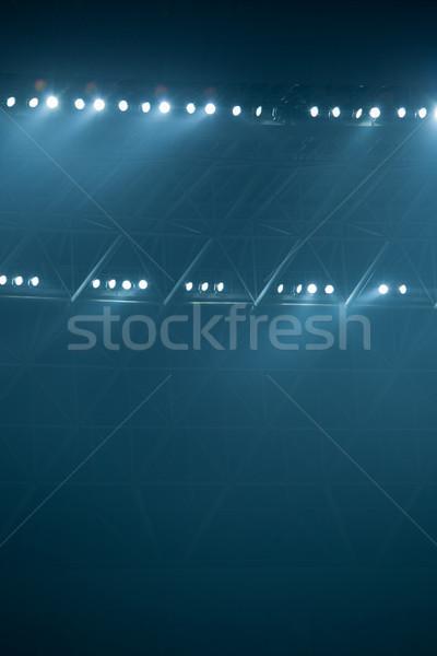 Stock fotó: Színpad · fények · kép · világítás · effektek · színház