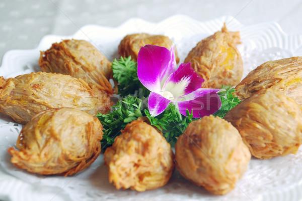 Radijs bal voedsel kok asia Stockfoto © wxin