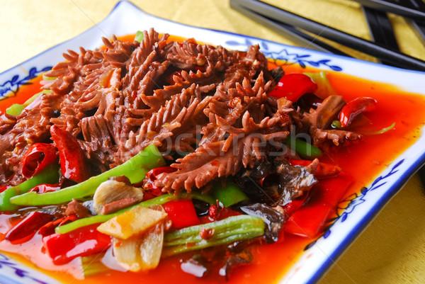 食品 中国 竹 豚肉 腎臓 ストックフォト © wxin