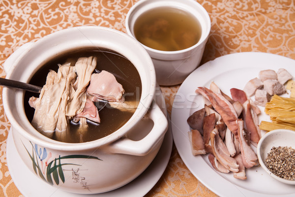 chinese delicious food Stock photo © wxin